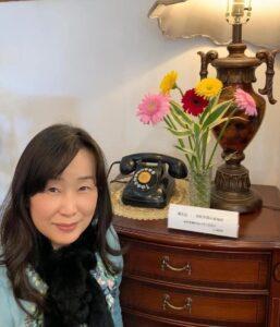昭和初期の黒電話とわたし