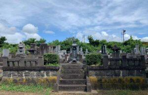 先祖が眠る墓地