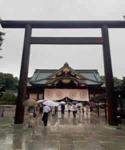 靖國神社拝殿