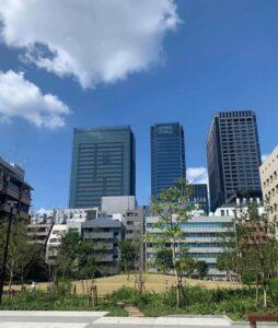 日本橋兜町の新しい公園